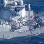 Seven US navy crews missing off Japan