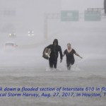 """Harvey brings catastrophic flooding to Houston Tropical Storm Harvey has dumped at least a foot of rain in most parts of Houston, Texas, causing the worst flooding in the city's history. Harris County officials estimate that thousands of people have been rescued, and Texas Gov. Greg Abbott (R) said 3,000 national and state guard members have been deployed to the state, including hundreds in Houston. The Houston Independent School District has canceled school for the week. Residents with boats are being asked to assist their neighbors who might be stranded in their homes. On Saturday, Harvey was downgraded from a hurricane to a tropical storm, but rain is expected to continue through Thursday. The National Weather Service has the unconfirmed death toll from Harvey at five. President Trump is expected to visit Texas on Tuesday. Houston Chronicle, The Week Heather Heyer's mother denounce racism at MTV VMAs At the MTV Video Music Awards on Sunday, a descendent of Robert E. Lee and Heather Heyer's mother appeared onstage together, denouncing racism and white supremacy. Heyer was killed earlier this month while demonstrating against a white supremacist rally in Charlottesville, Virginia, which was partly organized to protest the removal of a statue of Lee. Heyer's mom, Susan Bro, announced she was launching a foundation in her daughter's name. Bro was introduced by Rev. Robert E. Lee IV, who said it was his """"moral duty to speak out against racism, America's original sin. Today, I call on all of us with privilege and power to answer God's call to confront racism and white supremacy head-on."""" New York Daily News, The Week Trump sought Trump Tower Moscow during 2016 campaign During his presidential campaign, Donald Trump's company sought to develop a Trump Tower in Moscow, several people familiar with the proposal told The Washington Post. Discussions ramped up in September 2015, with an unidentified investor planning on building the project, using Trump's name under a licen"""
