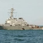 US Navy destroyer collide with tanker near Singapore