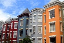 **FILE** Row houses in D.C.'s Mount Pleasant neighborhood (AgnosticPreachersKid via Wikipedia)