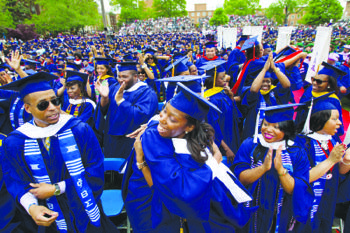 Seventy-seven percent of Howard University graduates leave school with student loan debt. (Courtesy of blackholisticlifestyle.com.)