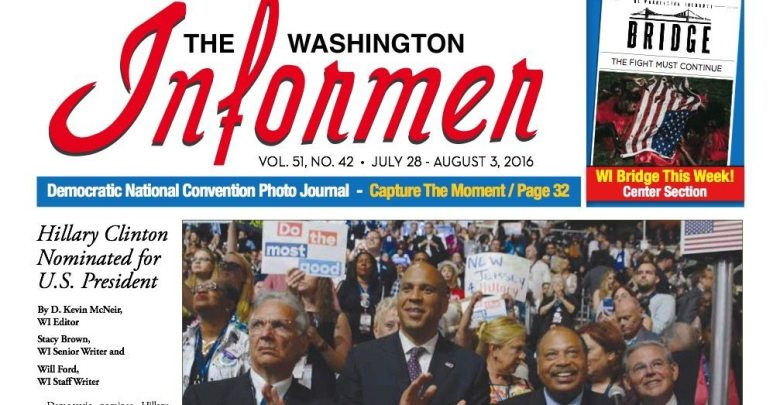 Washington Informer, July 28, 2016