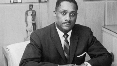 Caption: John H. Johnson, founder of Ebony and Jet magazines /Courtesy ofthefamouspeople.com