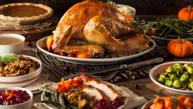 Homemade Roasted Thanksgiving Day Turkey with all the Sides/Photo: iStock