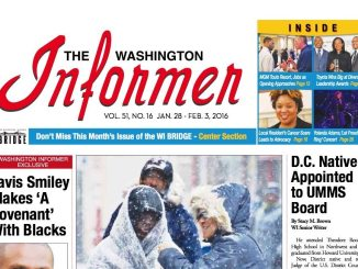 Washington Informer January 16, 2016