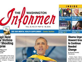 Washington Informer, May 12, 2016