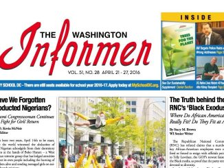 Washington Informer, April 21, 2016