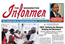 Washington Informer, September 15, 2016