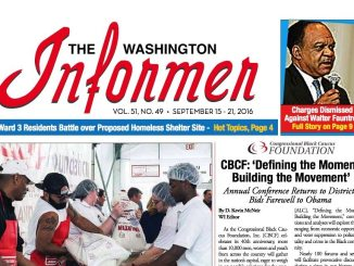 Washington Informer, September 15, 2016