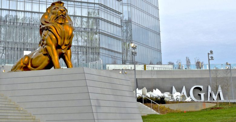 The new MGM National Harbor casino resort opened for business Dec. 8. (Travis Riddick)
