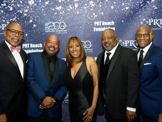 From left: PRT members are James Scott Jr., founding partner of Penan & Scott, P.C.; Jeffrey Hargrave, president of Mahogany, Inc.; Dr. Sheila Brooks, founder, president and CEO of SRB Communications; John Walters, owner and president of Walters Relocations, Inc.; and Robert L. Wallace, president & CEO, BITHGroup Technologies, Inc. (Courtesy photo)