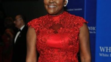 Wanda Pratt, mother of NBA basketball player Kevin Durant, attends the 2016 White House Correspondences' Association Dinner at the Washington Hilton Hotel on Saturday, April 30, 2016 in Northwest. /Photo by Patricia Little @5feet2