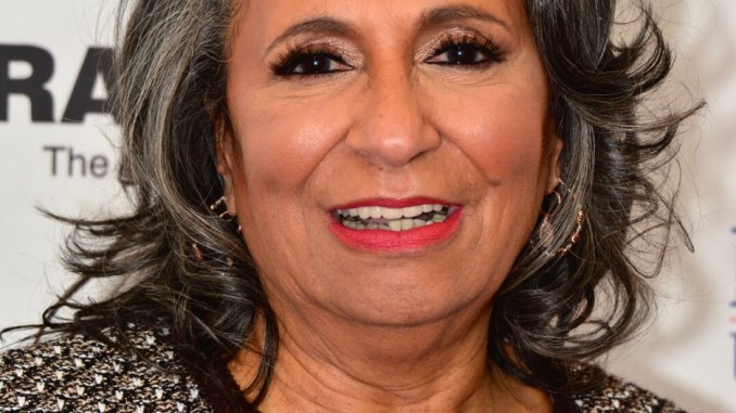 Cathy Hughes, founder and chair of Radio One and owner of 56 radio stations and the TV One Network, is honored by Howard University and the School of Communications with the renaming of the school to the Cathy Hughes School of Communications. /Photo by Ronald Gilbert Baker – Solid Image