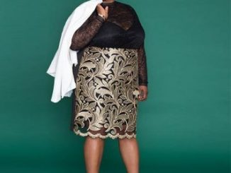 Former D.C. Public Schools Chancellor Kaya Henderson has started a career in fashion modeling. (Courtesy of eloquii.com)