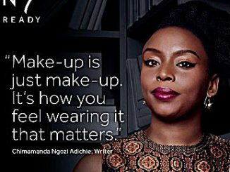 Caption: Boots N07 has named author and feminist Chimamanda Ngozi Adichie the face of their cosmetic line. /Courtesy photo