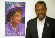 A photo by Lateef Mangum was chosen for the new Dorothy Height stamp as part of the USPS Forever Series. (Courtesy photo)