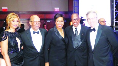 UNCF Chief Executive Officer Michael Lomax partnered with Mayor Muriel Bowser and co-chairs to host the 5th annual Washington Mayor's Masked Ball. (Courtesy of UNCF)