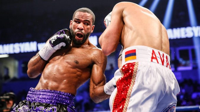 D.C.'s Lamont Peterson defeated WBA regular welterweight world champion David Avanesyan (22-2-1, 11 KOs) in a 12-round unanimous decision at Xavier University's Cintas Center in Cincinnati on Feb. 18.