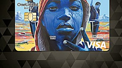 OneUnited Bank and Black Lives Matter have partnered to create the Amir Visa Debit Card in celebration of Black History Month and to utilize black America's $1.2 trillion in spending power. (Courtesy of OneUnited Bank)