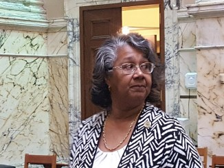 "Delegate Cheryl Glenn of Baltimore City, lead sponsor of legislation on medical marijuana, says the Natalie M. LaPrade Maryland Medical Cannabis Commission decision-making to award applicants is a ""corrupt process."" (William J. Ford/The Washington Informer)"
