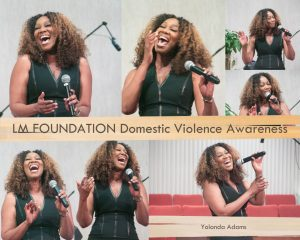 Gospel artist Yolanda Adams was the featured performer at the LM Foundation Domestic Violence Awareness program held at 19th Street Baptist Church on May 6, 2017. /Photos by Shevry Lassiter