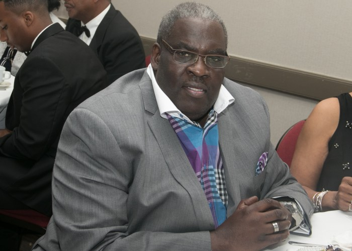 William Askew, class of '72 and 2012 inductee attends the 8th Annual Cardozo All-Met Hall of Fame Awards Dinner in Upper Marlboro, Md., April 30, 2017. /Photo by Shevry Lassiter