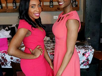 Ashley Grimes (left) and Destiny Jones have started a new business to help women entrepreneurs. (Courtesy photo)