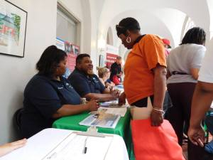 Eager participants gain valuable information about affordable homeownership during MANNA, Inc.'s 2016 Homeownership Town Hall. (Courtesy of Jonathan Nisly)