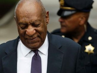 Actor Bill Cosby arrives at the Montgomery County Courthouse in Norristown, Pennsylvania, for the second day of his sexual assault trial on June 6, 2017. (Pool photo)
