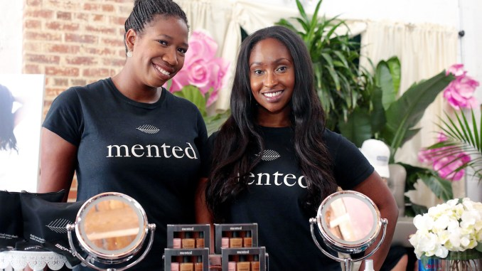 Mented Cosmetics founders Amanda E. Johnson and KJ Miller host a pop-up shop on July 8 at Femme Fatale on H Street NE. (DB McKinney/The Washington Informer)