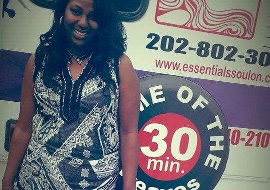 DeJuan Burns is the founder of De Glam Shoppe, which boasts the first mobile hair salon in the D.C. region. (Courtesy photo)