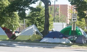 Dozens of homeless camps are scattered throughout Washington, D.C. (Shevry Lassiter - The Washington Informer)