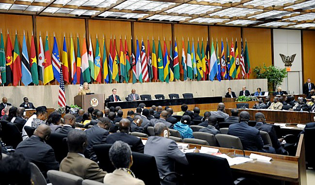 The African Growth and Opportunity Act Forum is a program meant to better establish and maintain the African economy. (Courtesy of Wikimedia Commons)