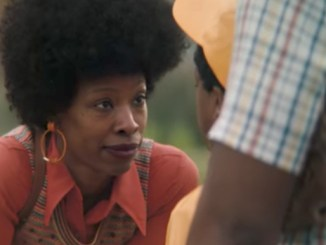 "A screen shot of Procter & Gamble's ""The Talk"" television commercial, which features African-American women discussing the realities of being black in America with their children"