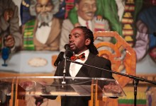Ward 8 Council member Trayon White delivers his State of the Ward address at Union Temple Baptist Church in southeast D.C. on Sept. 14. (Demetrious Kinney/The Washington Informer)