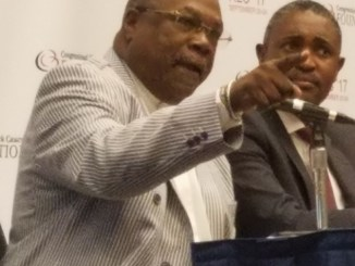 The Rev. Wendell Anthony participates in a panel on voting rights and activism during the Congressional Black Caucus Foundation's 47th Annual Legislative Conference in northwest D.C. on Sept. 22. (William J. Ford/The Washington Informer)