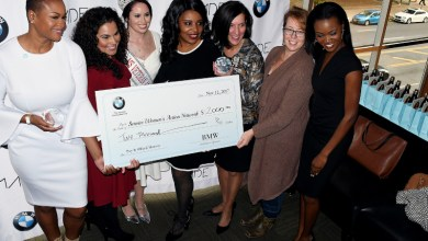 BMW of North America salutes female military veterans during a Nov. 12 brunch at The Park at 14th in northwest D.C. (Roy Lewis/The Washington Informer)