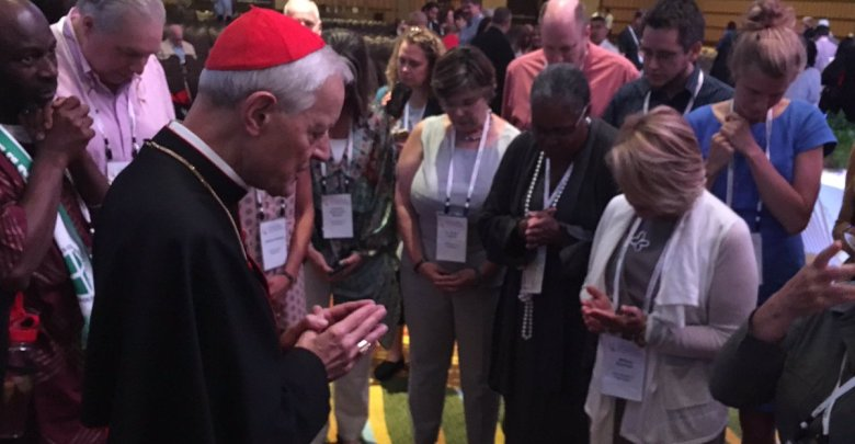 Courtesy of Cardinal Donald Wuerl, Archbishop of Washington, via Twitter