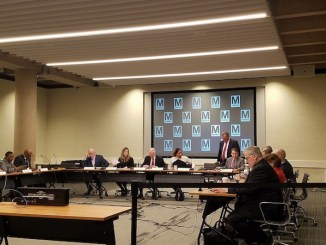 Metro's board of directors holds its last meeting of the year at the transit agency's northwest D.C. headquarters on Dec. 14. (William J. Ford/The Washington Informer)