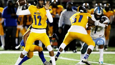 Dr. Henry A. Wise Jr. High quarterback Quinton Williams will return to the Pumas for his senior year. He threw for over 2,000 yards and accounted for 30 touchdowns last season. (Courtesy photo)