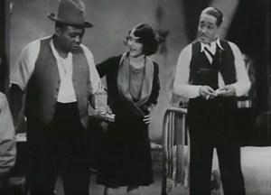 "Fredi Washington (center) and Duke Ellington, (right) star in Dudley Murphy's 1929 short ""Black and Tan."" (Courtesy of RCA)"