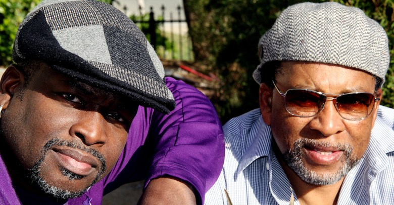 """Artists Larry """"Poncho"""" Brown and Charles Bibbs (Courtesy photo)"""