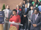 D.C. Mayor Muriel Bowser updates the community. (Courtesy of EOM.dc.gov)