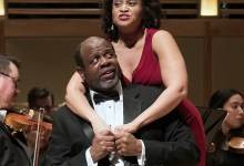 """Kevin Deas and Marlissa Hudson star in """"Porgy and Bess."""" (Courtesy of Strathmore)"""