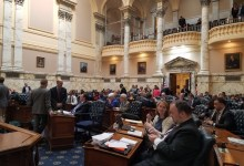 Maryland lawmakers convene for a session of the state's General Assembly in Annapolis on March 19. (William J. Ford/The Washington Informer)