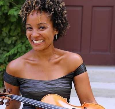 "The National Philharmonic kicks off its spring concert season with Sphinx Competition winner and acclaimed violinist Melissa White, who will perform ""Spirited Brahms"" at The Music Center at Strathmore. (Courtesy of the National Philharmonic)"