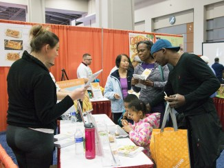 Hundreds of residents fill the Walter E. Washington Convention Center in Northwest for the 25th annual Health and Fitness Expo. (Shevry Lassiter/The Washington Informer)