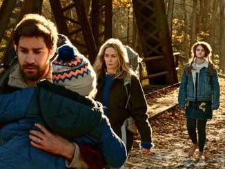"From left: John Krasinski, Noah Jupe, Emily Blunt and Millicent Simmonds star in ""A Quiet Place."" (Paramount Pictures)"