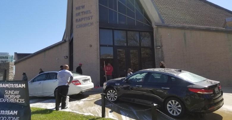 A view of New Bethel Baptist Church (Jacqueline Fuller/The Washington Informer)