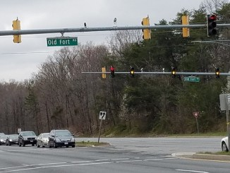 State lawmakers have until April 9 to decide whether to post a speed camera at an intersection of Route 210 and Old Fort Road near the Potomac Village shopping center in Fort Washington. (William J. Ford/The Washington Informer)